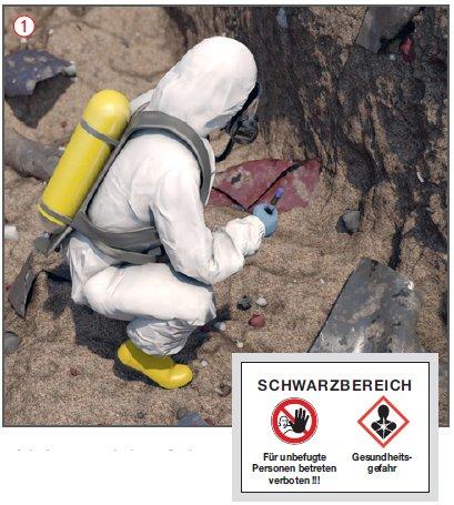 Gefahrenstoffe Sanierung - Kontaminierter